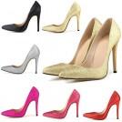 Cole Haan Scarpe -  HooH Women's Bling Shiny Pinted-toe Slip Stiletto Dress Pump