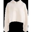 FECLOTHING Jacket - coats -  Hooded Turtleneck Sweater Female Furry L