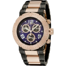 Invicta Relojes -  Invicta Men's 6765 Reserve Collection Chronograph 18k Rose Gold-Plated and Black Stainless Steel Watch