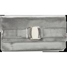 Ivanka Trump Clutch bags -  Ivanka Trump Allison ITR064-01 Clutch Gunmetal