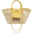 HalfMoonRun Hand bag -  JACQUEMUS straw bag