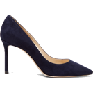 Evelin  Classic shoes & Pumps -  JIMMY CHOO Romy 85 suede pumps