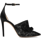 Evelin  Classic shoes & Pumps -  JIMMY CHOO Temple 100 glittered velvet a