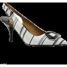 PaoM Classic shoes & Pumps -  J. Renee Lloret striped slingbacks
