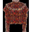 svijetlana2 Flats -  JW ANDERSON Paisley-printed silk blouse