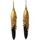sandra  Brincos -  Jacqueline Cullen - Hand Carved earrings