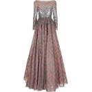 sandra  Dresses -  Jenny Packham Embellished Lace Gown