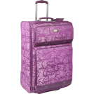 "Jessica Simpson Travel bags -  Jessica Simpson Luggage Signature Jacquard 28"" Expandable Upright Hollyhock"