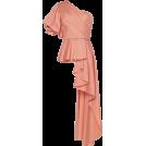 glamoura Shirts -  Johanna Ortiz Pampas One-Shoulder Asymme