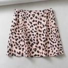 FECLOTHING Skirts -  Joker leopard print sexy high waist mini