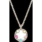 HalfMoonRun Ogrlice -  KATE SPADE floral necklace