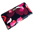 kate spade NEW YORK Borse -  Kate Spade Grant Street Grainy Vinyl Floral Continental Zip Around Wallet Neda