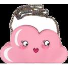 whisper Hand bag -  Kawaii Kool face cross body bag