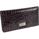 Kenneth Cole Wallets -  Kenneth Cole Faux Leather Checkbook Organizer Wallet Purple