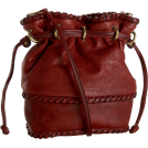 Kooba Bag -  Kooba Pippa Small Cross-Body Bucket Bag Red