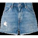 beautifulplace Shorts -  LEVI'S VINTAGE CLOTHING distressed denim