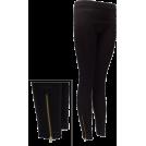 FineBrandShop Ghette -  Ladies Zippered Leggings Black