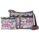 LeSportsac Bag -  LeSportsac Deluxe Shoulder Satchel Handbag Purse Around Town