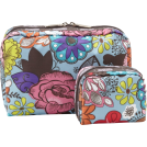 LeSportsac Bag -  LeSportsac Extra Large Rectangular & Square Combo Cosmetic Case Celebrate