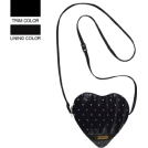 LeSportsac Bag -  LeSportsac Heart Crossbody Bag Glam Gold