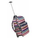 LeSportsac Backpacks -  LeSportsac Luggage Rolling Backpack Campus Stripe TR
