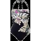 lence59 Kupaći kostimi -  Leaf Print Bandeau Swimsuit