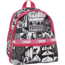 LeSportsac Nahrbtniki -  Lesportsac Mini Basic Backpack Pink Fairytale