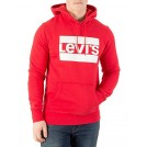 Levi's Shoes -  Levi's Men's Graphic Pullover Hoodie, Red