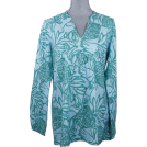 Lilly Pulitzer Tunic -  Lilly Pulitzer Joycee Tunic Shorely Blue Toucan Tango Top