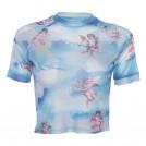 FECLOTHING Shirts -  Little angel print t-shirt