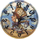 Little miss me  Watches -  Mad hatter clock