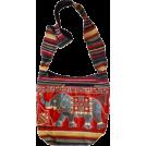 αA(アルファエー) Bag -  MG Decor Madhu's Collection Gypsy Recycled Patchwork Sling Cross Body Elephant Bag/Purse