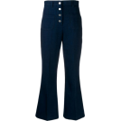 beautifulplace Capri & Cropped -  MIU MIU high-waisted jeans
