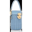 HalfMoonRun Torebki -  MIU MIU rattan bucket bag