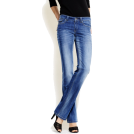 Mango Jeans -  Mango Women's Straight-leg Jeans. Medium Denim