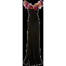 vespagirl Dresses -  Marchesa Floral-Applique velvet gown