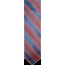 Tommy Hilfiger Tie -  Men's Tommy Hilfiger Neck Tie 100% Silk Blue & Pink Striped