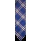 Tommy Hilfiger Tie -  Men's Tommy Hilfiger Necktie Neck Tie Silk Blue Plaid