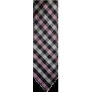 Tommy Hilfiger Tie -  Men's Tommy Hilfiger Necktie Neck Tie Silk Navy, Pink and Silver