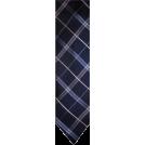 Tommy Hilfiger Tie -  Men's Tommy Hilfiger Necktie Neck Tie Silk Navy Blue & Silver