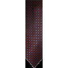 Tommy Hilfiger Tie -  Men's Tommy Hilfiger Necktie Neck Tie Silk Orange Navy & Blue