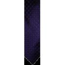 Tommy Hilfiger Tie -  Men's Tommy Hilfiger Necktie Neck Tie Silk Purple Blue & Silver