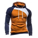 Mooncolour Shirts -  Mooncolour Men's Casual Pullover Long Sleeve Hoodies Outwear