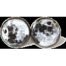 sandra  Brincos -  Moon earrings Etsy