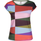 PINaR ERIS T-shirts -  Multi Color Geometric Print T-Shirt