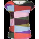 PINaR ERIS Koszulki - krótkie -  Multi Color Geometric Print T-Shirt