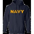 victoriaismine Pullovers -  Navy Hoodie