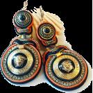 Sabaheta Earrings -  New Soutache Earrings from button Medusa