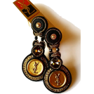 Sabaheta Earrings -  New Soutache studs made of authentic but