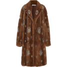 HalfMoonRun Jacket - coats -  OSCAR DE LA RENTA embellished coat